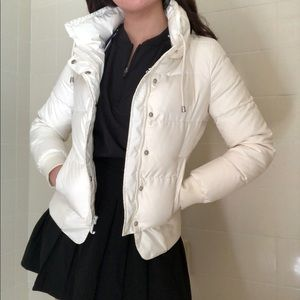 Rare Vintage Juicy Couture White Down Puffer
